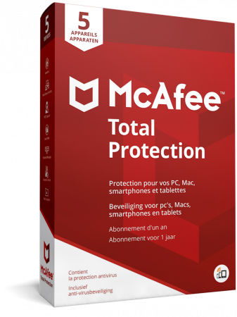 McAfee Total Protection 5PC